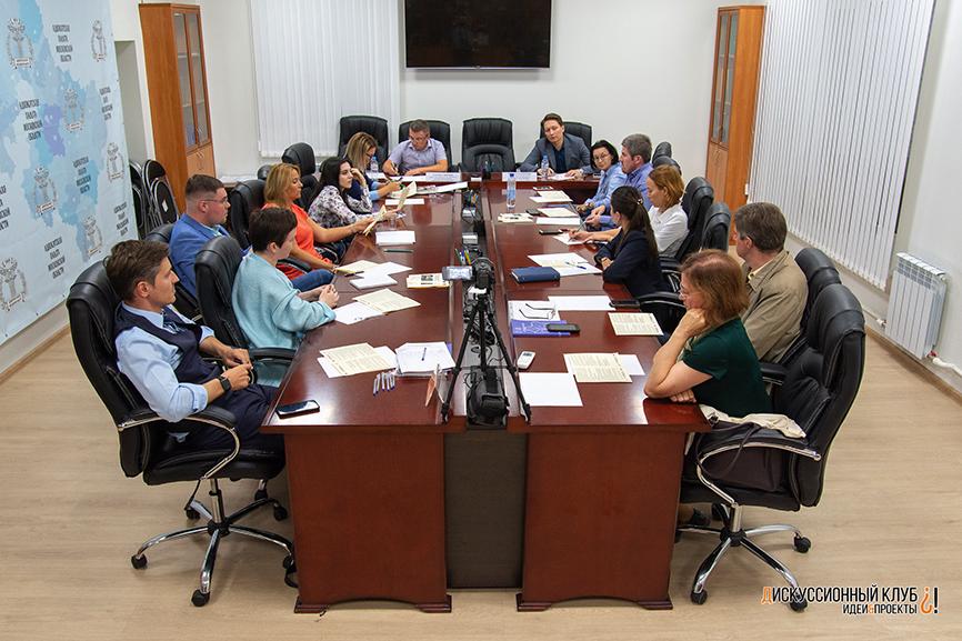 Фото: Заседание, посвящённое 2-му Конгрессу молодых адвокатов России